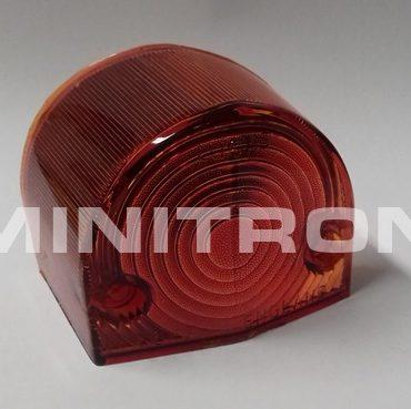 Takavilkun lasi MK1, punainen linssi, vasen
