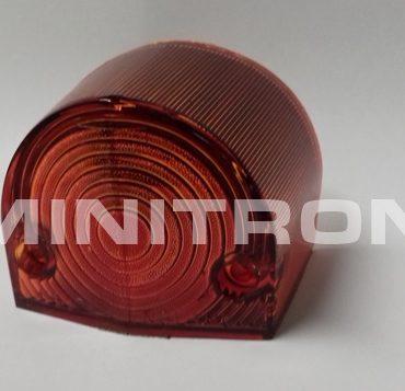 Takavilkun lasi MK1, punainen linssi, oikea